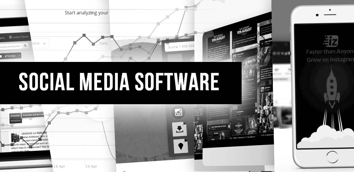 18+1 Social Media Marketing Tool: Software für Facebook, Youtube, Instagram + Online Kurse