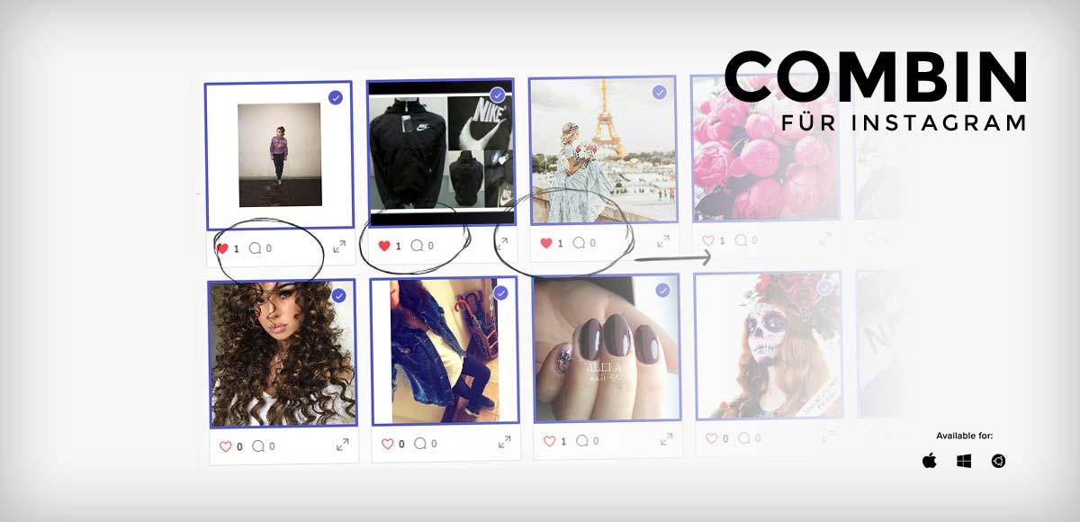 Combin Instagram Tool im Test: Follower/Fans und Reichweite aufbauen