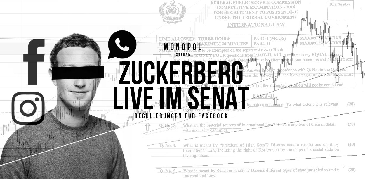 Mark Zuckerberg Live vor US-Senat: Datenskandal um Cambridge Analytica