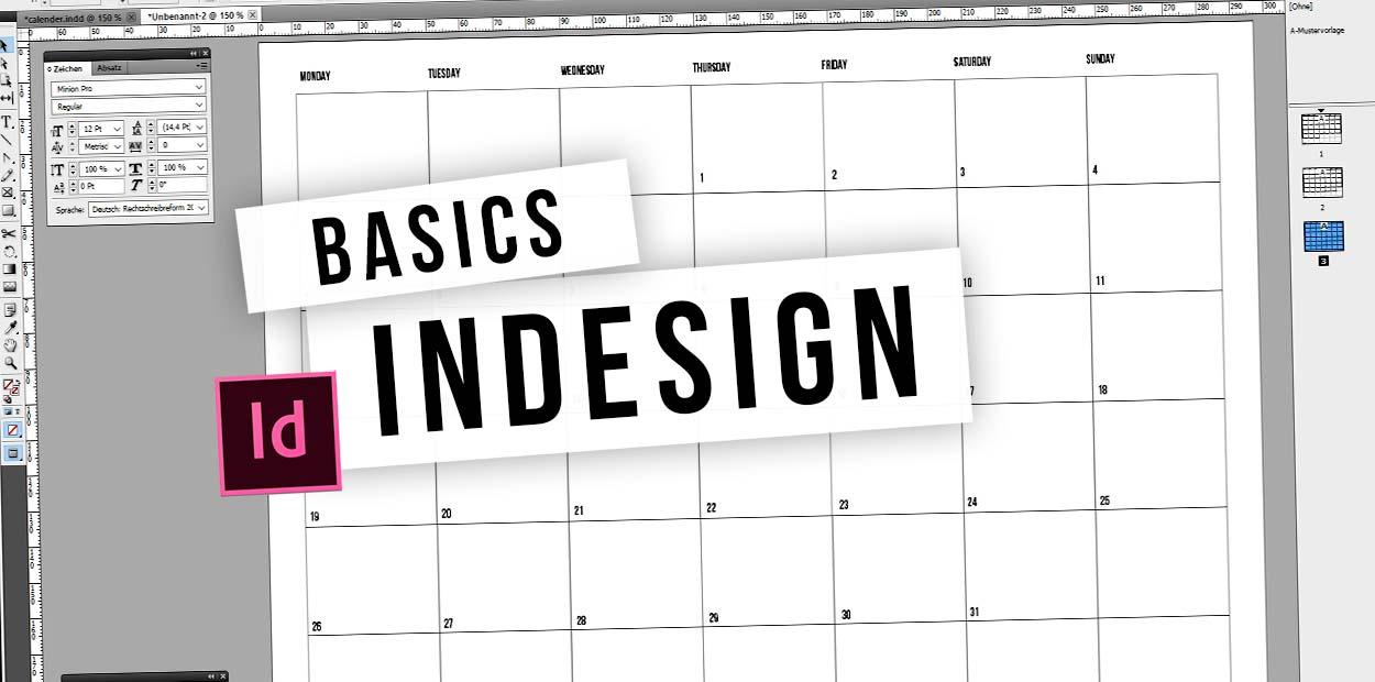 Adobe InDesign: Video Tutorial für Layout, Seiten und Textverknüfpung - kostenloses Tutorial