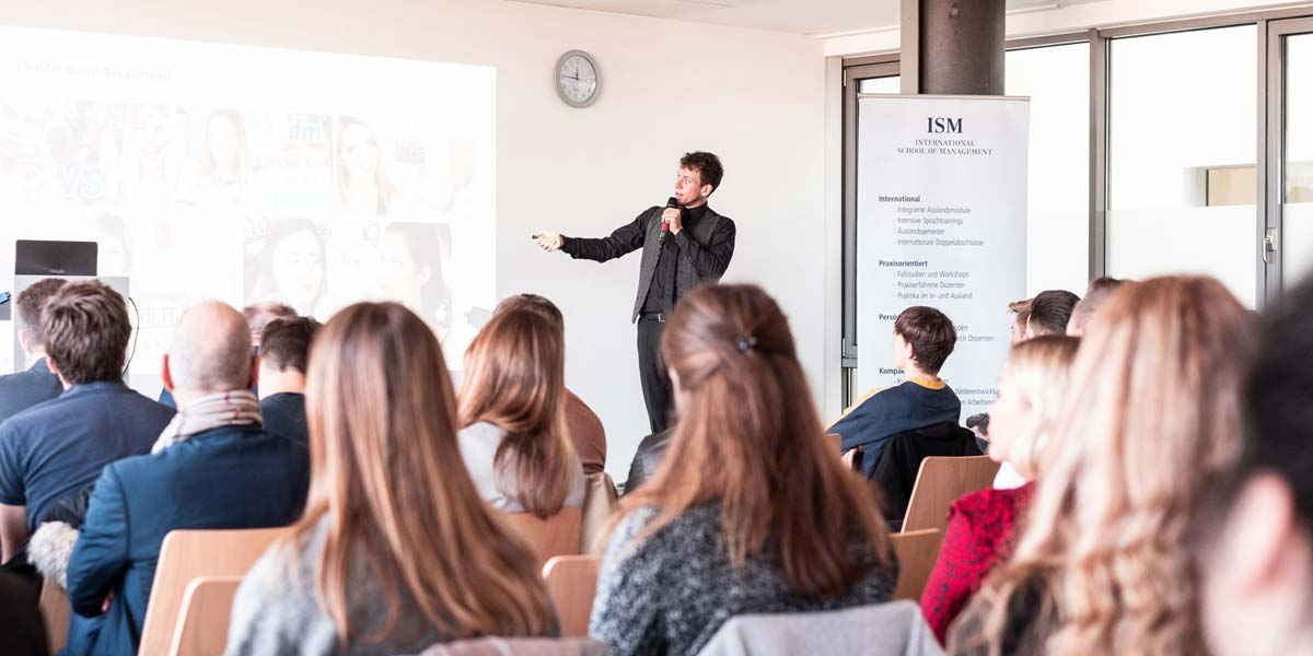 Influencer Marketing Strategien - Speaker Vortrag @ISM