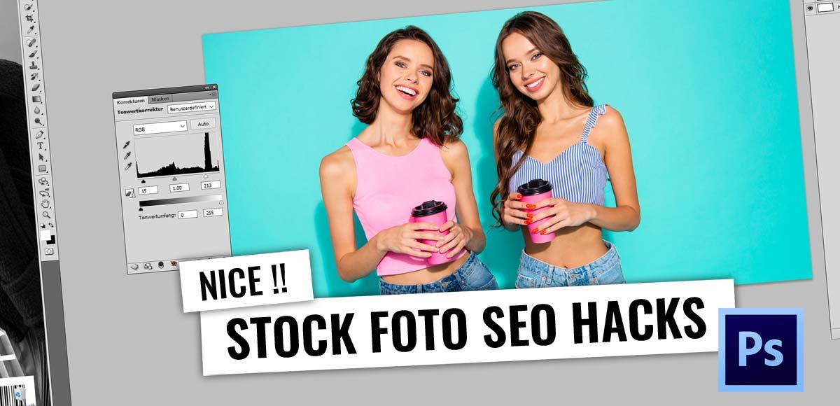SEO & Photoshop - Stock Fotos duplizieren! Günstig und kostenlos: Video Tutorial