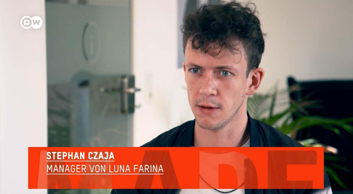 """Made in Germany"" @ DW TV über Influencer Marketing - Interview Luna Farina & Stephan M. Czaja"