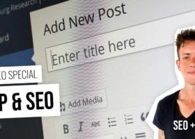WordPress: Installation, einrichten bis SEO Texte in 5 Folgen – Kostenlos lernen mit Videos