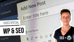 WordPress: Installation, einrichten bis SEO Texte in 5 Folgen - Kostenlos lernen mit Videos