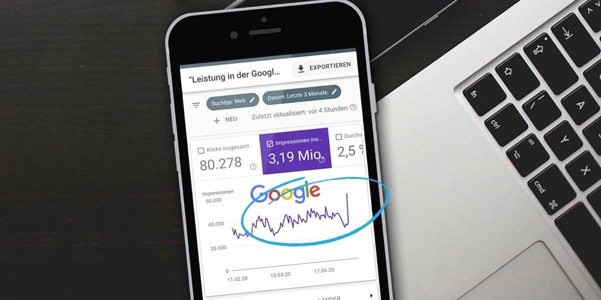 Google Algorithmus Update: So verändern sich SEO Rankings in 4 Tagen - Beispiel & Best Practice