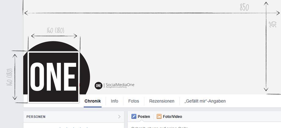 Facebook Fanpage Design-Vorlage
