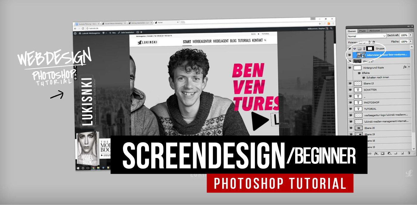 Webdesign Testumgebung: Photoshop Tutorial für Manager und Werbeagenturen