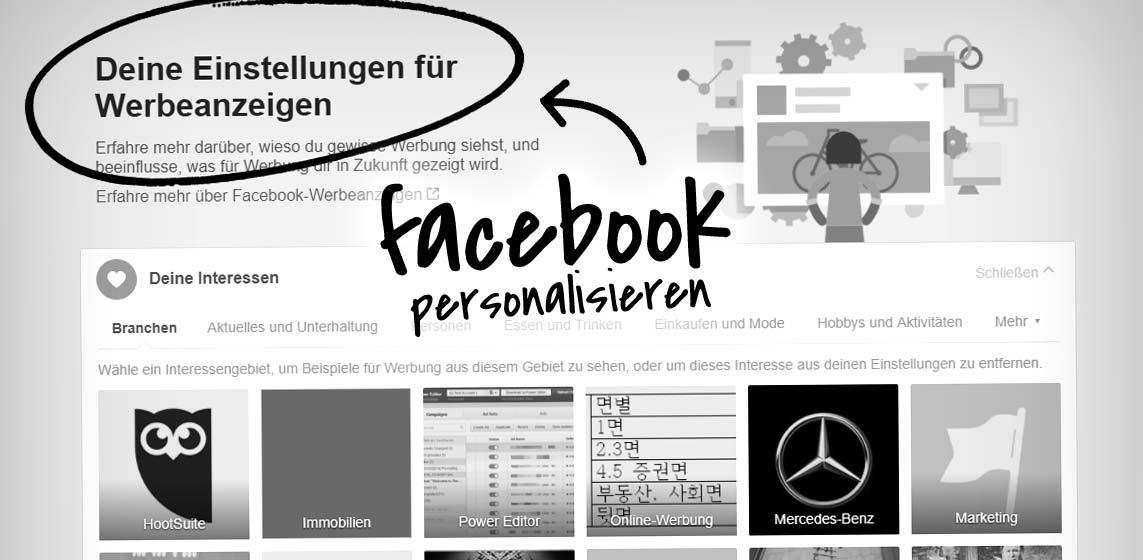 So verbirgst du auf Facebook Interessen und Informationen vor Werbetreibenden - Insight!