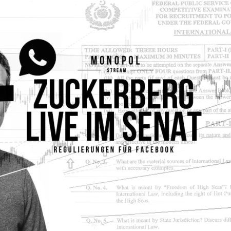 Mark Zuckerberg Live vor US-Senat: Datenskandal um Cambridge Analytica
