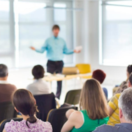 Berlin: Social Media Marketing Workshop vor 150 Personen - WOW!