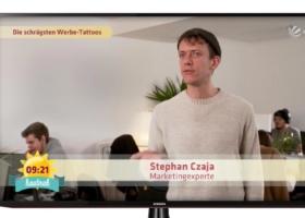 Ryanair Tattoo: Virale Reichweite und Rentabilität – Sat1 Frühstücksfernsehen