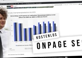 SEO Onpage Optimierung – Onsite Tipps mit Definition und Erklärvideo (kostenlos)