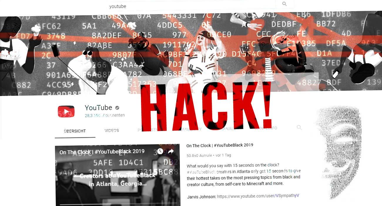 YouTube Konto gehackt! Was tun!? Sperren, löschen & nicht sichtbar - Hilfe