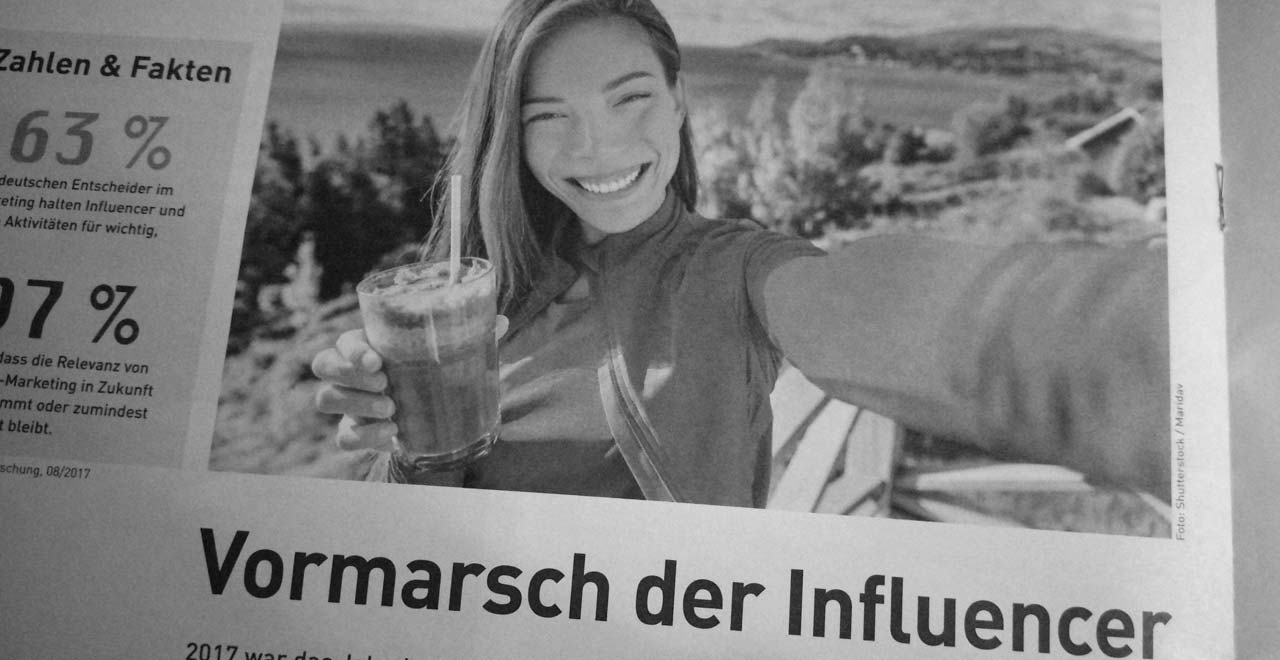 Influencer Marketing auf dem Vormarsch / Interview Internet World Business