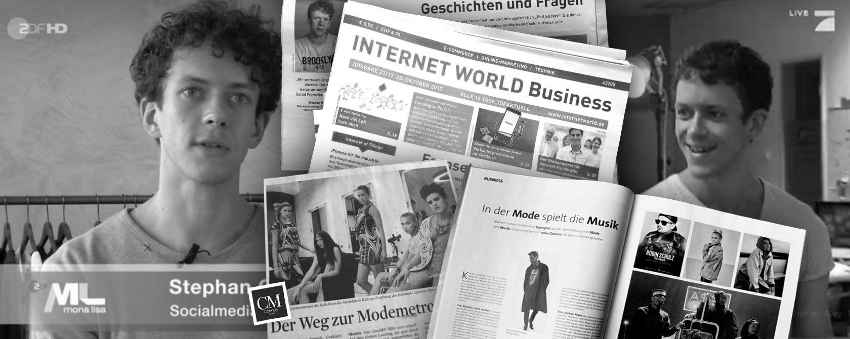 Experte in TV, Zeitung und als Speaker auf Events: Social Media Marketing mit Stephan Czaja
