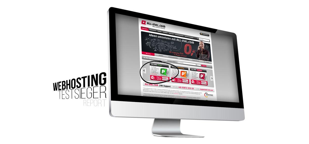 Webhosting bei All-Inkl: Unser Testsieger mit allen Paketen im Vergleich