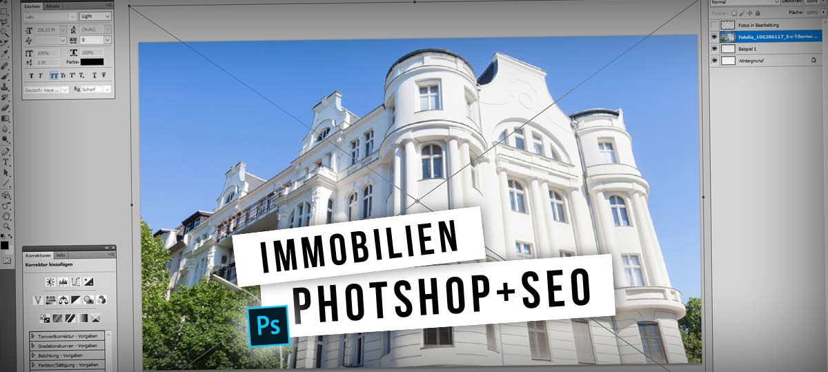 Immobilien Inserate optimieren: Photoshop, WordPress und SEO - Video Tutorial