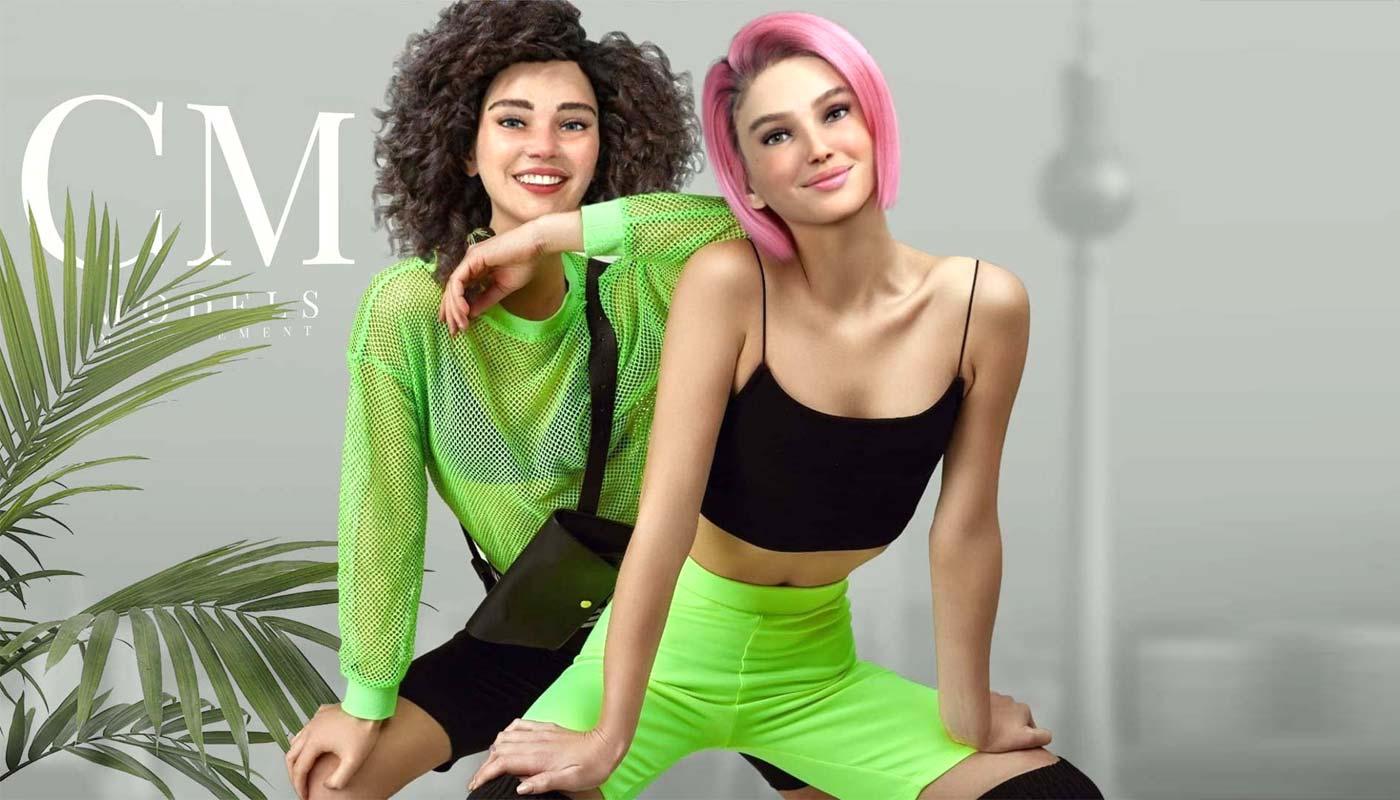 Virtuelle Influencer: LOUT über Zoe & Ella - Konkurrenz für Lil Miquela (Instagram)?!
