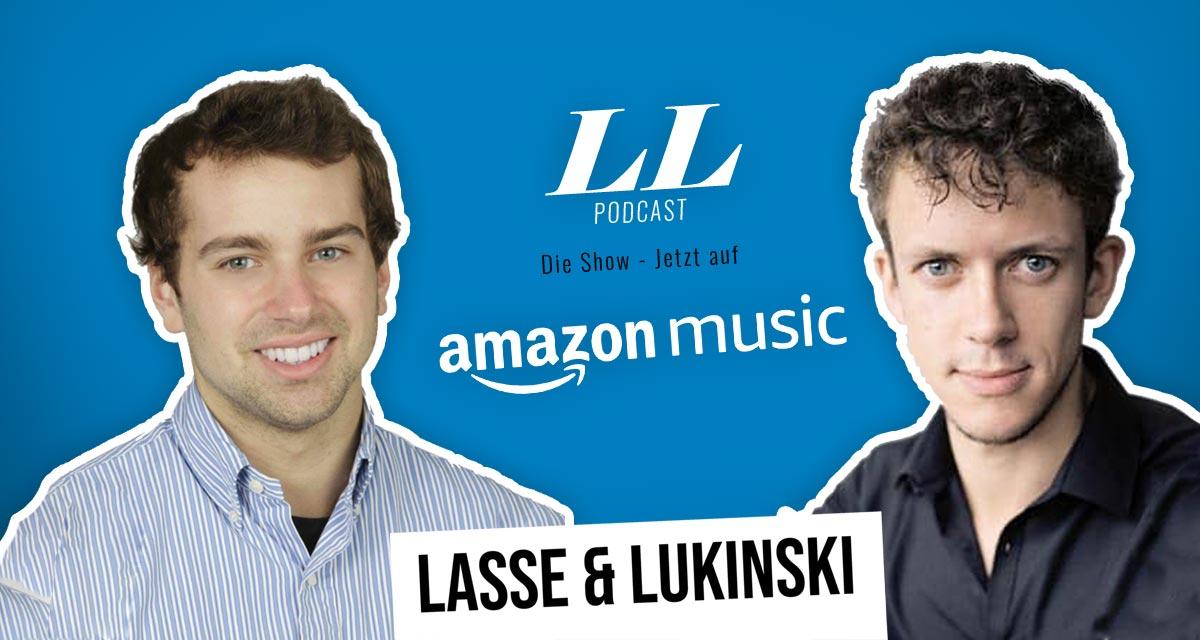 Amazon Music: Lasse & Lukinski Show jetzt auch auf Amazon!