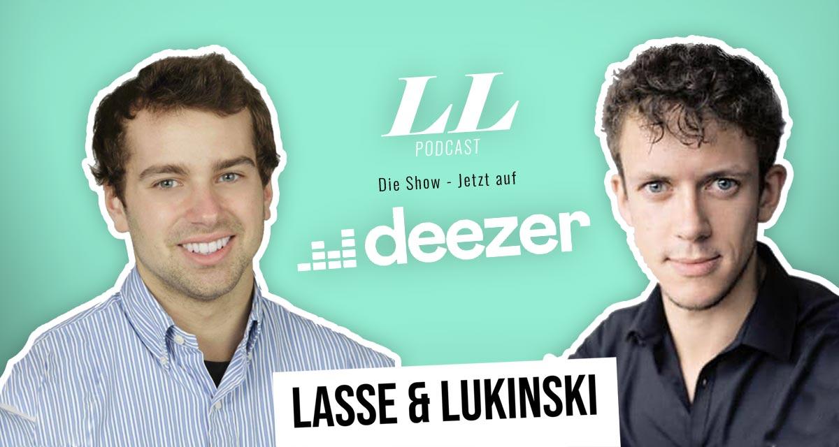 Deezer: Lasse & Lukinski Show jetzt auch auf Deezer!