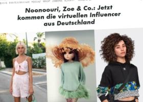 """Virtuelle Avatare: """"Künstliche Menschen"""" / VR in Werbung und Kampagnen – Interview auf OMR"""