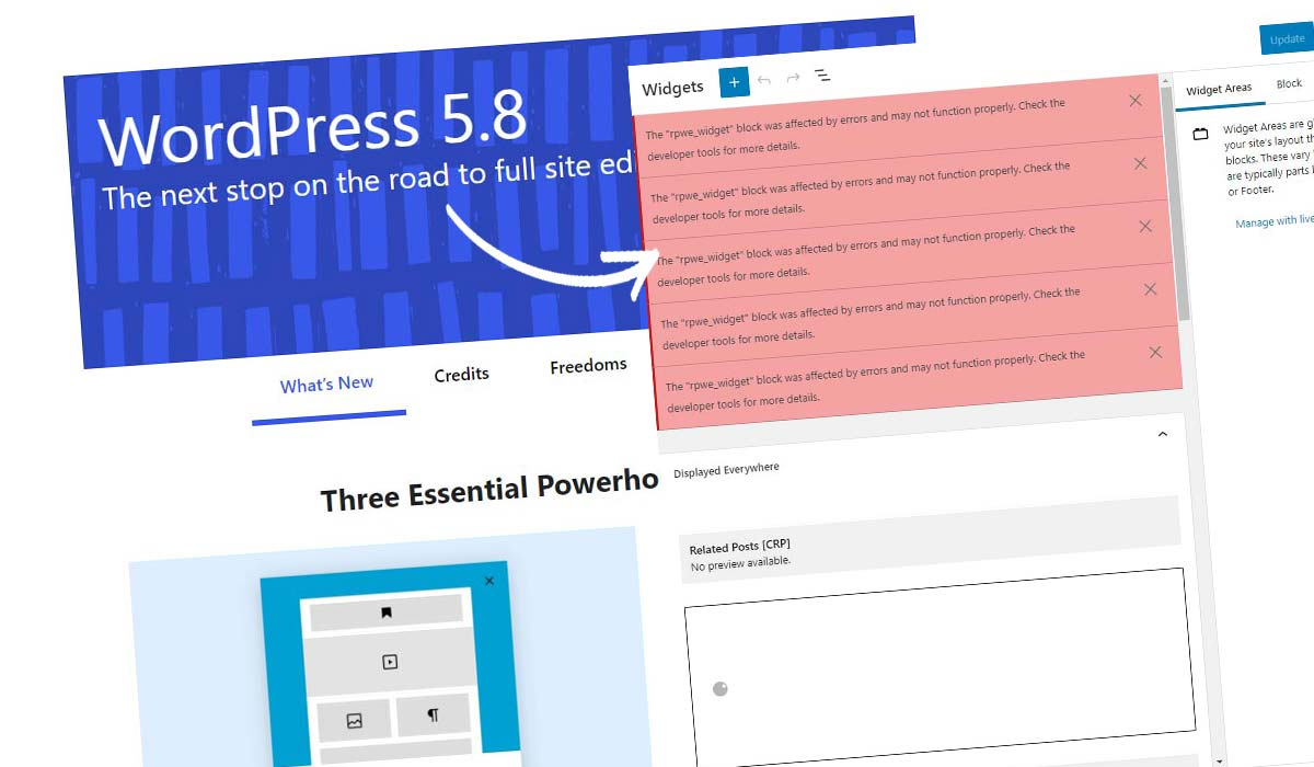 WordPress Block Widget deaktivieren! So geht's in 5 Sekunden + Anleitung